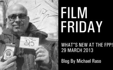 Film Friday – 29 March 2013