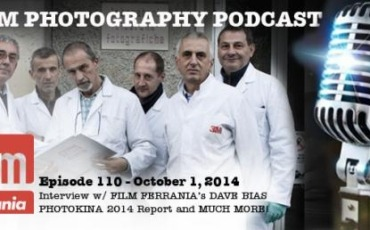 Film Photography Podcast  –  Episode 110 – October 1, 2014