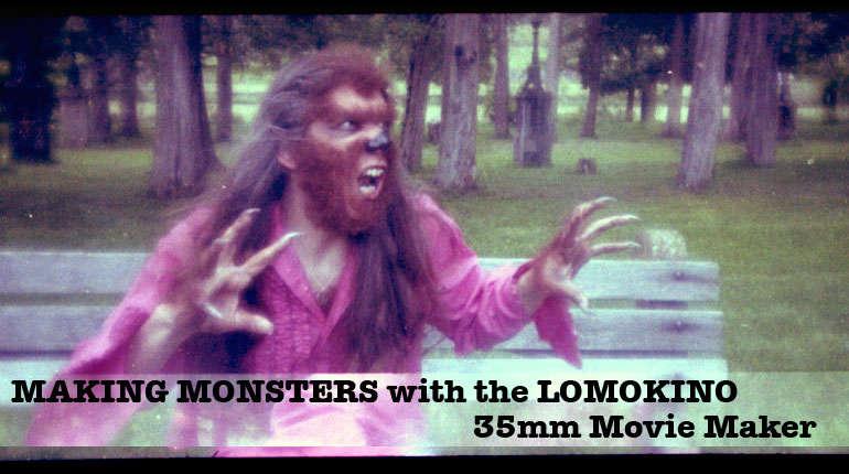 Make Monsters with the LOMOKINO Movie Maker!
