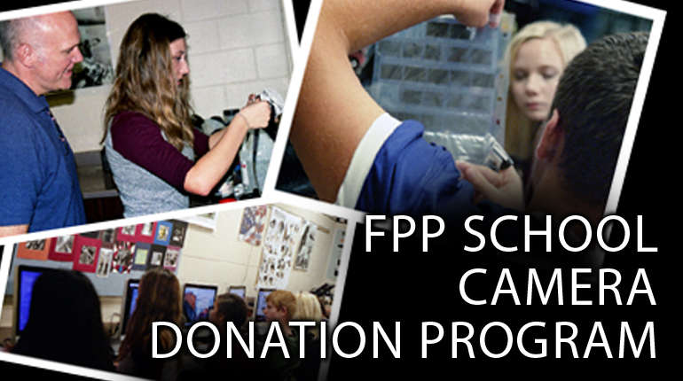 FPP Gives Film Cameras To Kids!