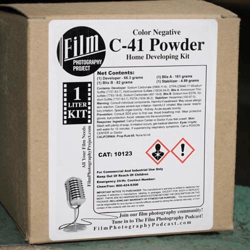 Darkroom Supplies - FPP C-41 Development Kit (1 Liter)