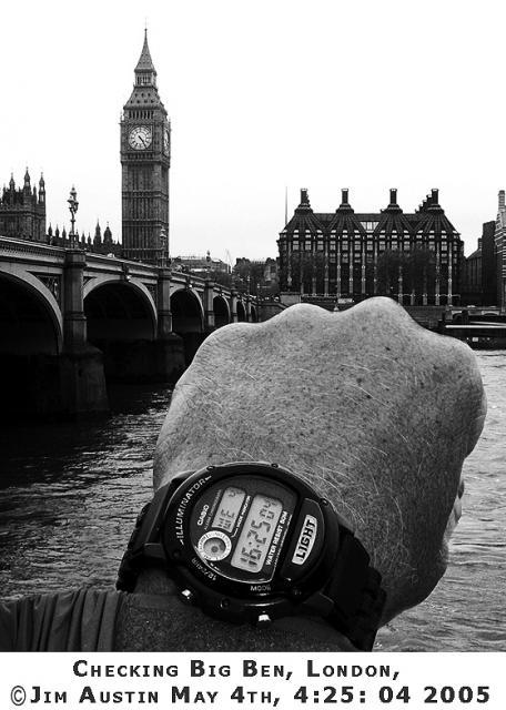 1Checking Big Ben Time Copyright 2005 Jim Austin