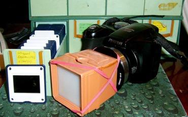 Digitizing Film Slides Without A Scanner