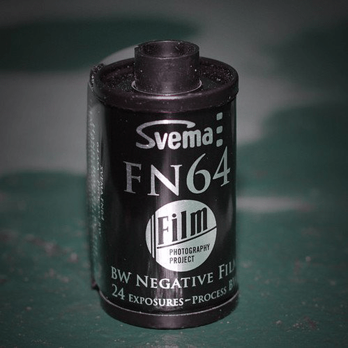 35mm BW Film - Svema FN64 (1 Roll)