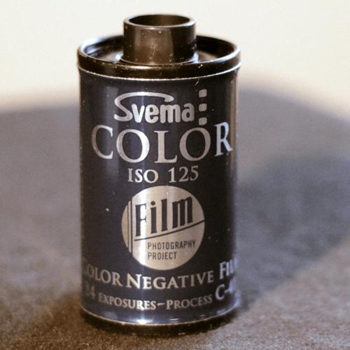 35mm Color - Svema 125 (1 roll)