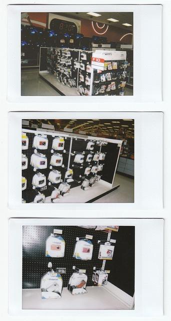 Polaroid 300 at Target Stores9/20/2010 Polaroid pic-300 camera