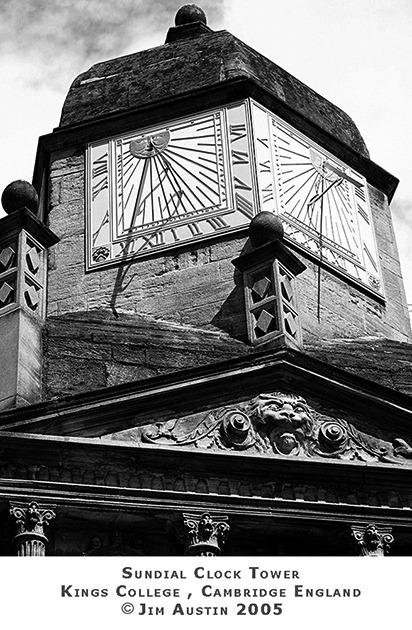 Sundial Clock Jim Austin 2005