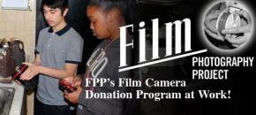 FPP's Film Camera Donation Program Continues!