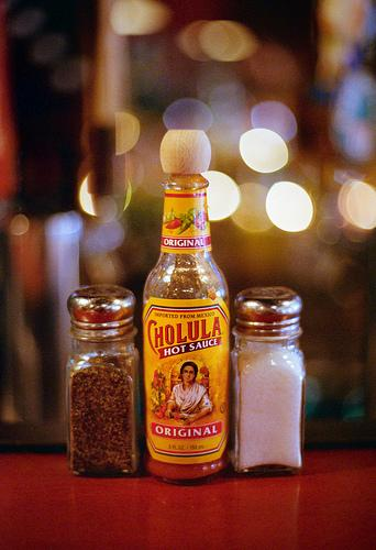 Cholula – Home Development Test Shot
