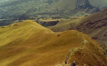 Hiking Volcan Imbabura