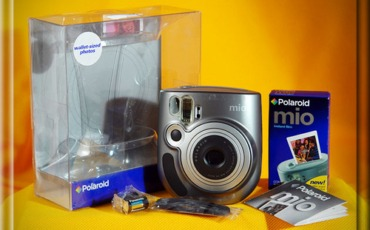 Polaroid Mio – Early Instax Format Camera!