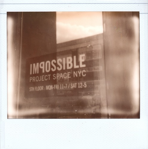 10/22/2010@ The Impossible Project NYC