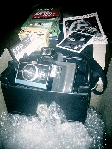 Polaroid Instant Photography – The 1969 Colorpack II