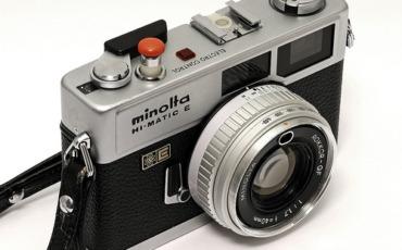 Minolta Hi-Matic E Camera!