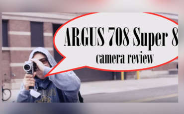 Argus / Cosina 708 Super 8 Camera – Overview