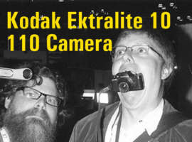 1-Minute Camera Review! Kodak Ektralite 110 Camera!