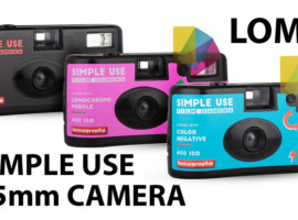 Lomo Simple Use Film Camera – Review and Re-Load!