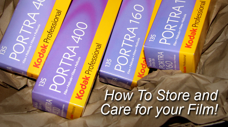 How To Store and Care for Film - Before and After Processing