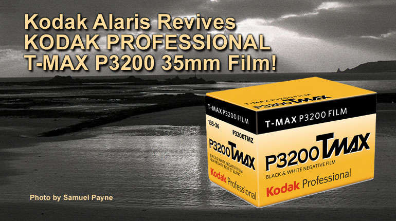 Kodak Alaris Revives KODAK PROFESSIONAL T-MAX 3200 35mm Film