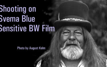 What is Blue Sensitive BW Film?