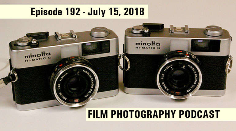 Film Photography Podcast 192