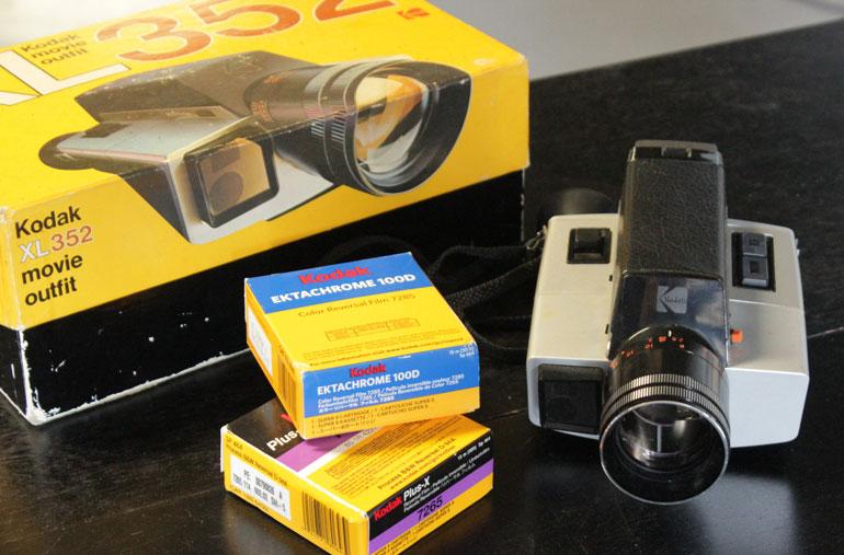 Super 8 Camera! The Kodak XL55 - Grinding Gears! - The Film