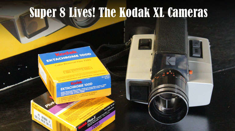 Super 8 Camera! The Kodak XL55 – Grinding Gears!