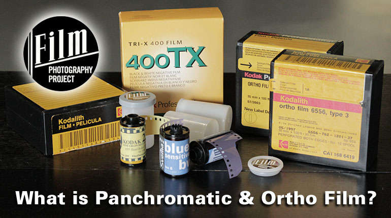 What is Panchromatic and Orthochromatic Film?