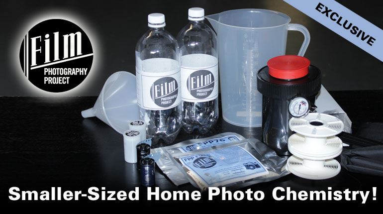 "Exclusive ""Smaller Sized"" Home Film Develop Kits!"