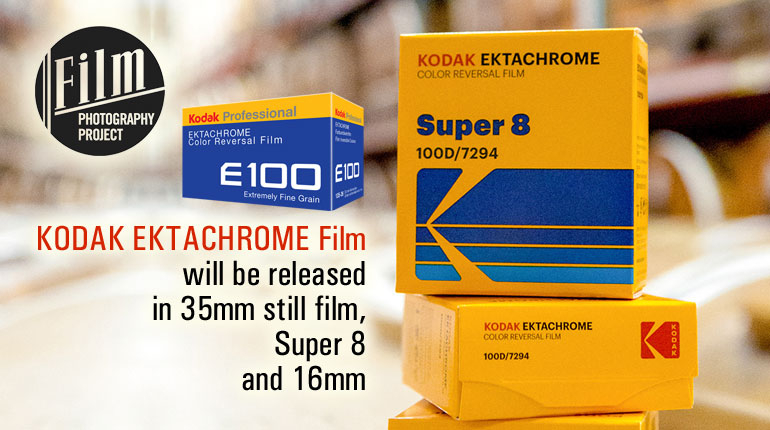 KODAK EKTACHROME Film will be released in 35mm still film, Super 8 and 16mm