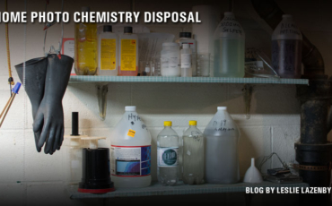 Disposing of Photographic Chemistry After Exhaustion