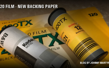 120 Film – Kodak Uses New Backing Paper