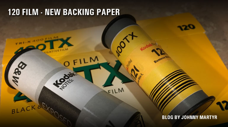 120 Film - Kodak Uses New Backing Paper - The Film Photography Project