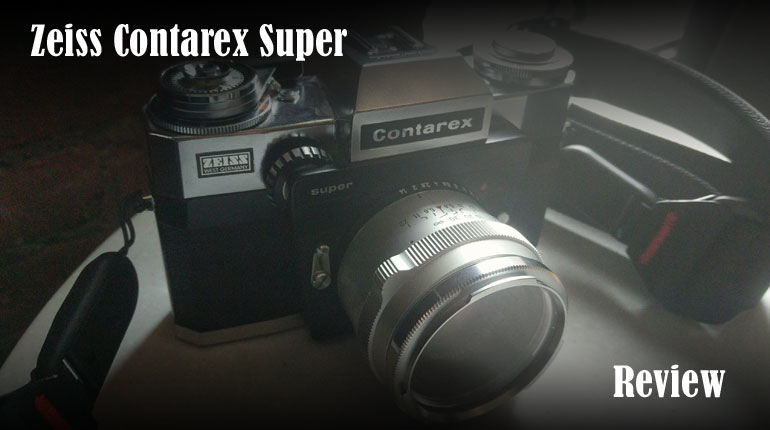 The Zeiss Contarex Super 35mm Camera