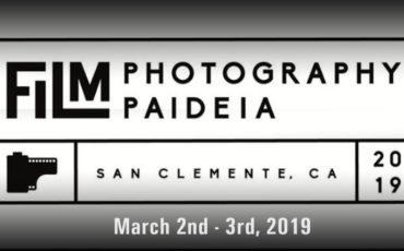 Film Photography Paideia – March 2 – 3, 2019