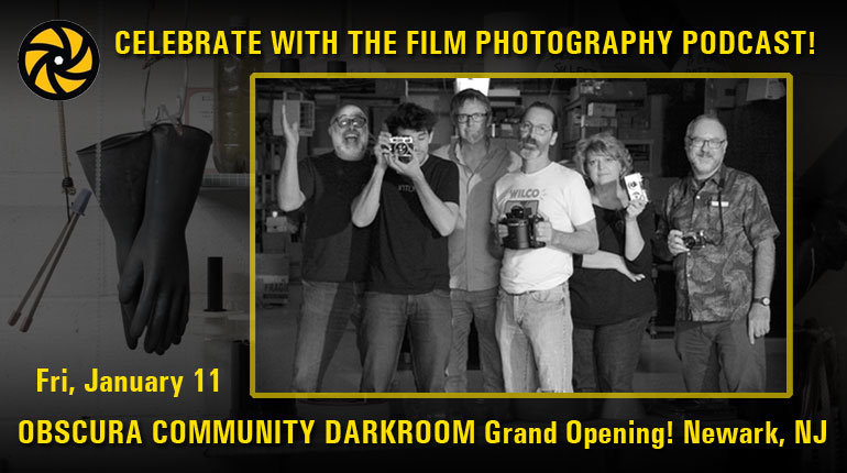 Join FPP at the Obscura Darkroom Grand Opening Event in Newark NJ!