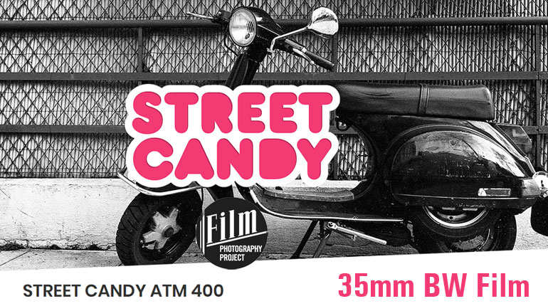 The Film Photography Project Brings Street Candy ATM 400 Film to U.S. Film Shooters!