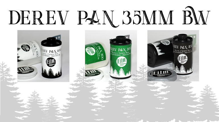 Derev Pan - A Lush, New 35mm BW Film!