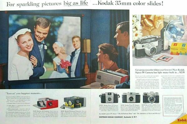 Project Your Slides! Vintage Kodak Slide Projector History