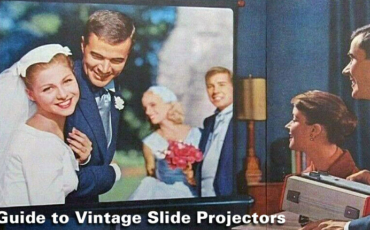 Project Your Slides! Vintage Kodak Slide Projector History / Advice