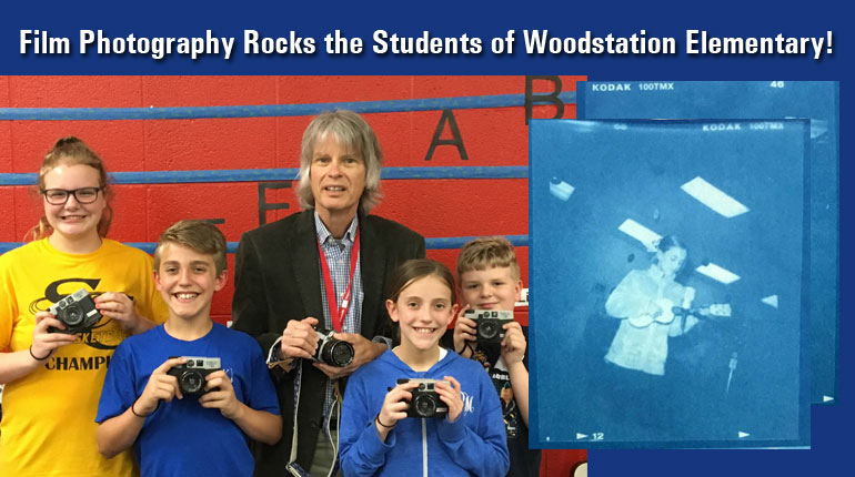 Film Photography Rocks the Students of Woodstation Elementary!