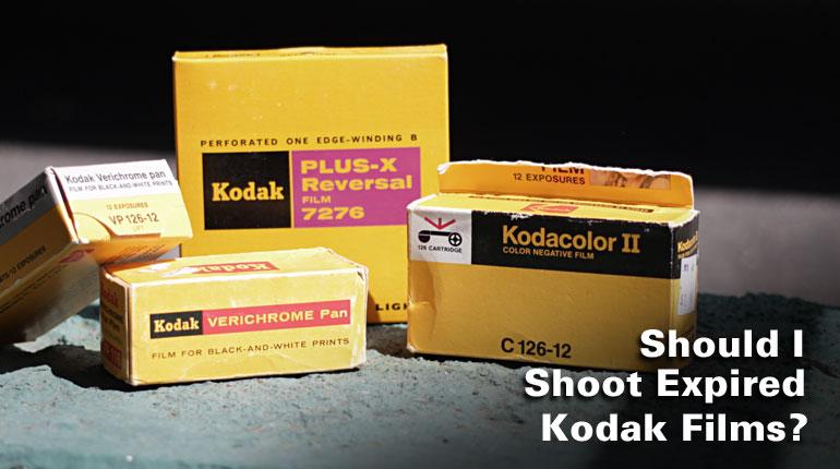 Should I Shoot Expired Kodak Film? - The Film Photography
