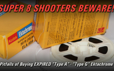 Beware of Expired Ektachrome Type A and Type G Super 8 Film!