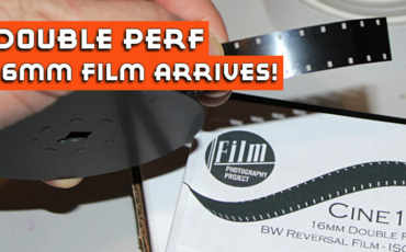 Introducing FPP CINE16 DOUBLE PERF 16mm FILM