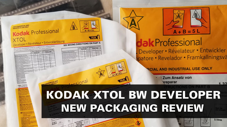 Kodak Xtol BW Developer – New Packaging in 2019!