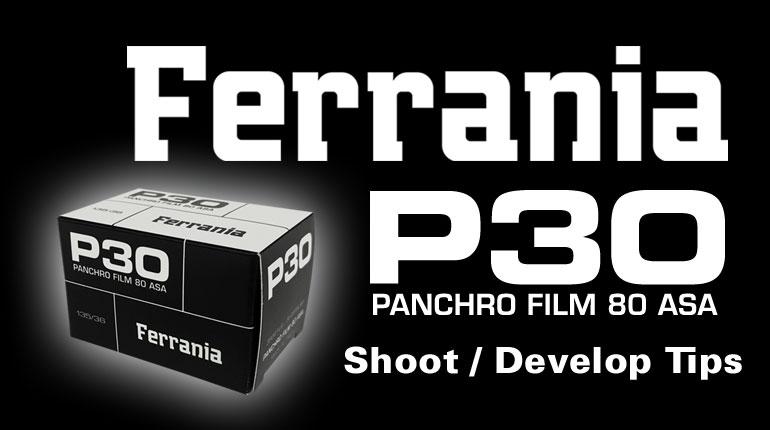 Introducing Film Ferrania P30 35mm BW Film