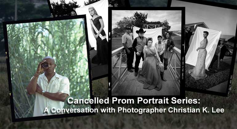 """Cancelled Prom"" Portrait Series: A Conversation with Christian K. Lee"