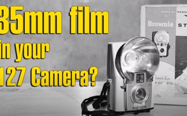 35mm Film in your 127 Film Camera