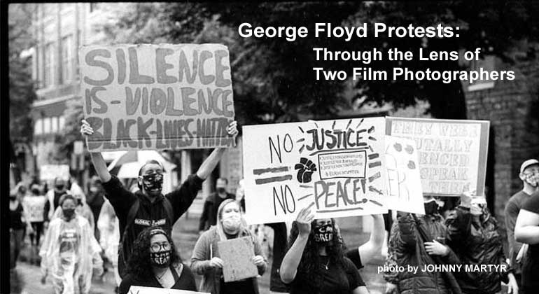 George Floyd Protests: Through the Lens of Two Film Photographers