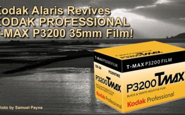 Kodak TMax 3200 BW High Speed Film!